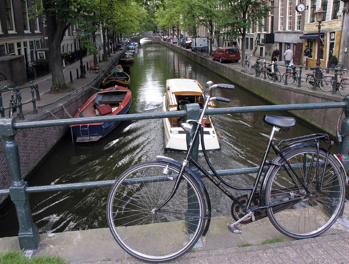 Buying a bike in Amsterdam
